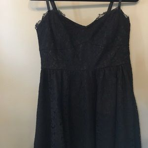 To the Max black lace dress